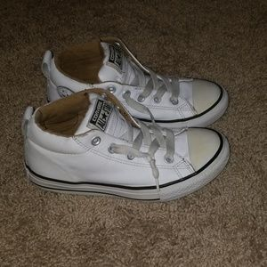 Size 2 All Star Leather Converse